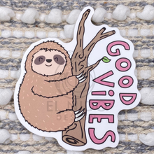 Load image into Gallery viewer, Lazy Good Vies Sticker