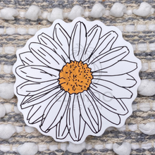 Load image into Gallery viewer, White Flower Sticker