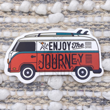 Load image into Gallery viewer, Enjoy the Journey Van Sticker