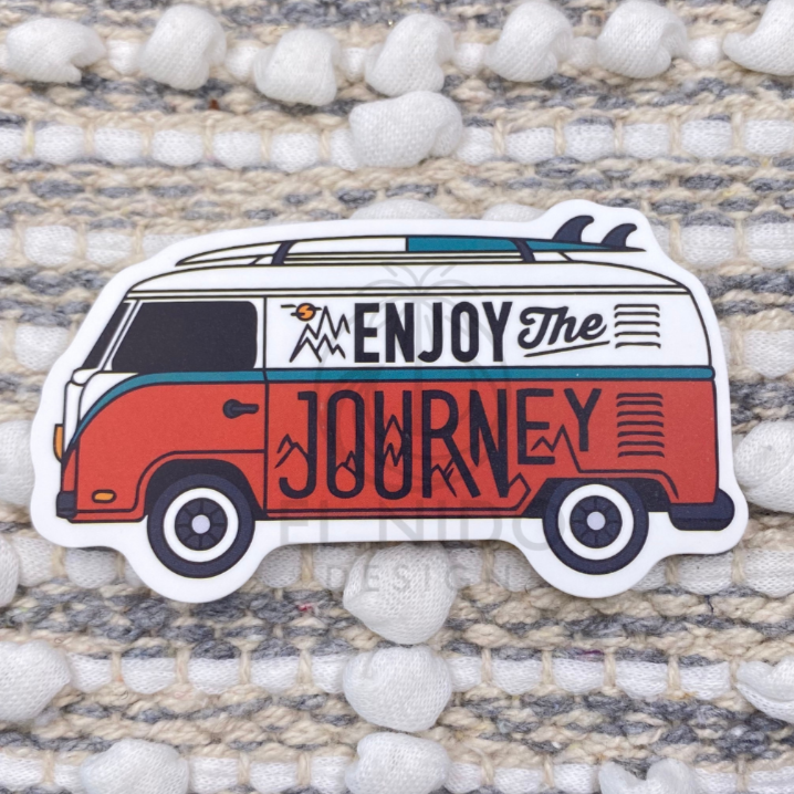 Enjoy the Journey Van Sticker