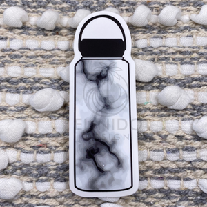 Marble Waterbottle Sticker