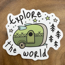 Load image into Gallery viewer, Explore the World Sticker