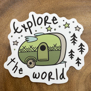 Explore the World Sticker
