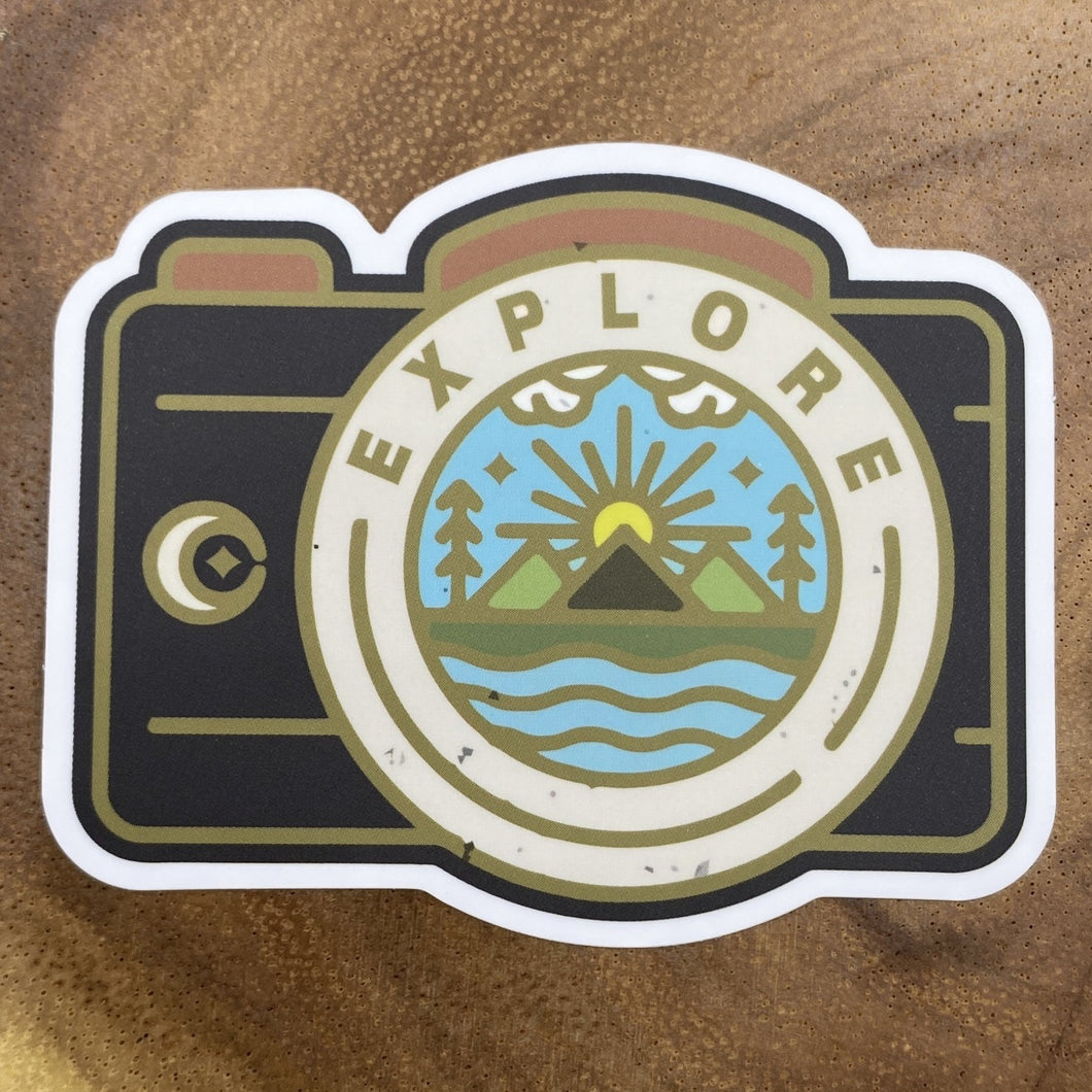 Camera Explore Sticker