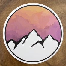Load image into Gallery viewer, Sunset Mountain Sticker