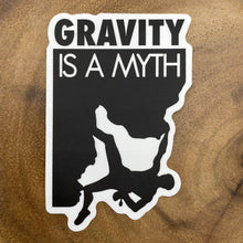 Load image into Gallery viewer, Gravity is a Myth Sticker