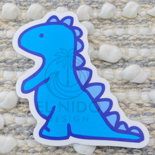 Load image into Gallery viewer, Blue Dinosaurus Sticker