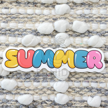 Load image into Gallery viewer, Summer Multicolor Sticker