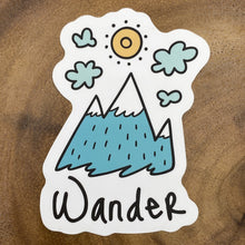 Load image into Gallery viewer, Wander Mountain Sticker