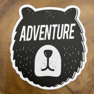 Bear Adventure Sticker