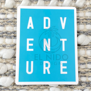 Blue Adventure Sticker