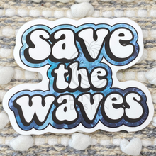 Load image into Gallery viewer, Save The Waves Sticker