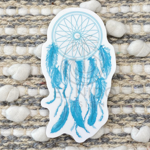 Blue Catchdreamer Sticker