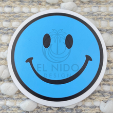 Load image into Gallery viewer, Blue Smile Sticker