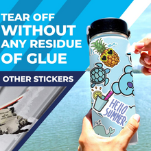 Load image into Gallery viewer, Beach Stickers 100 Pack