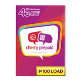 Cherry Prepaid 4G LTE Sim with 100 Load
