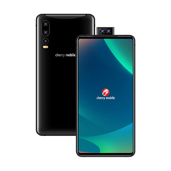 Cherry Mobile Flare S8 Plus (Black) with FREE iVisor
