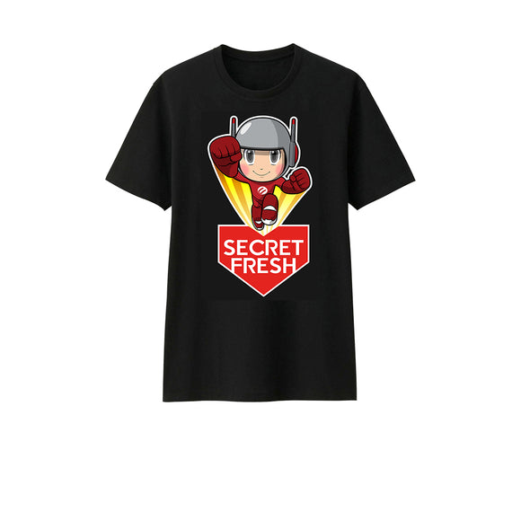 Cherry x Secret Fresh T-Shirt (Black)