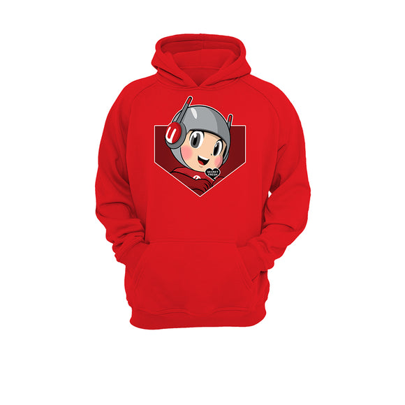 Cherry x Secret Fresh Hoodie - Cosmic (Red)