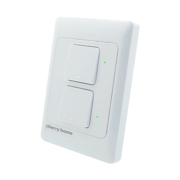 Cherry Home Smart Wall Switch (2-Gang)