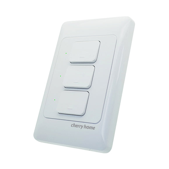 Cherry Home Smart Wall Switch (3-Gang)