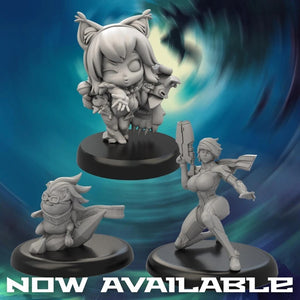 Chaos Kitty and Marie-Claude Questing Knight Now Available!