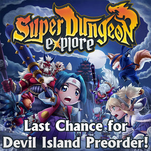 Devil Island Preorder Ends Soon!