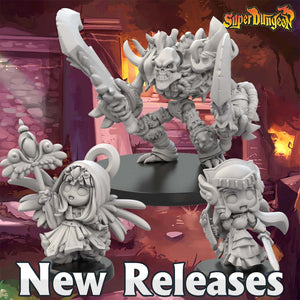 New Releases for Super Dungeon!