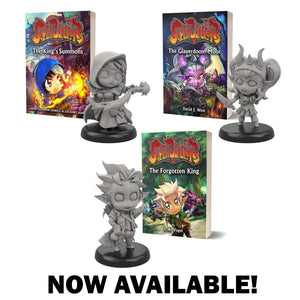 Super Dungeon Novels Now Available!