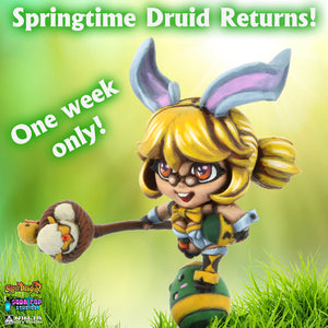 Springtime Druid Returns for One Week!