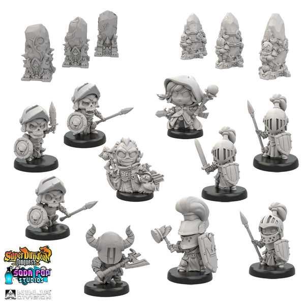 Sapphire and Amethyst Army Starters - Limited Promo Bundle