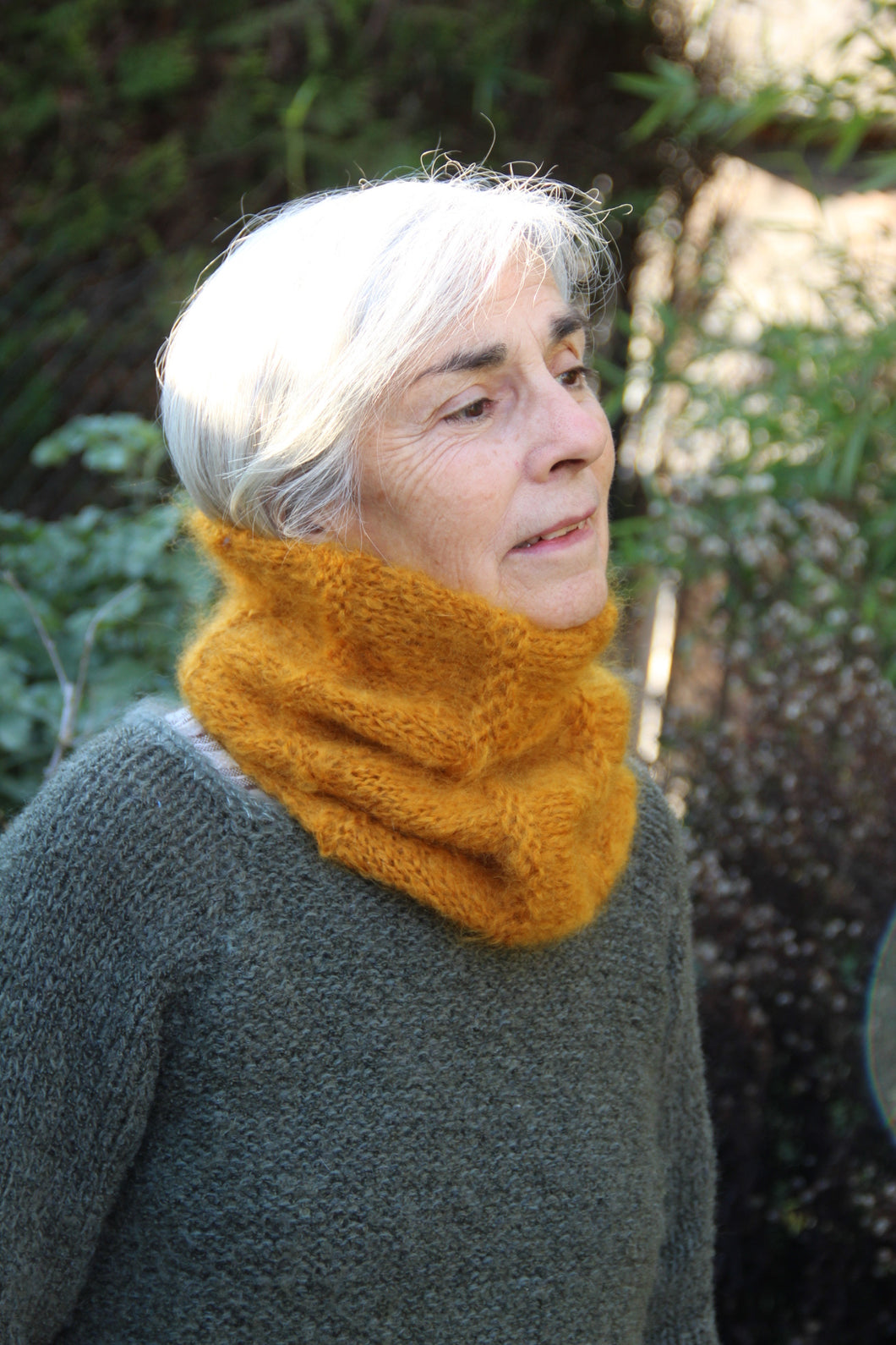 Snood  en mohair