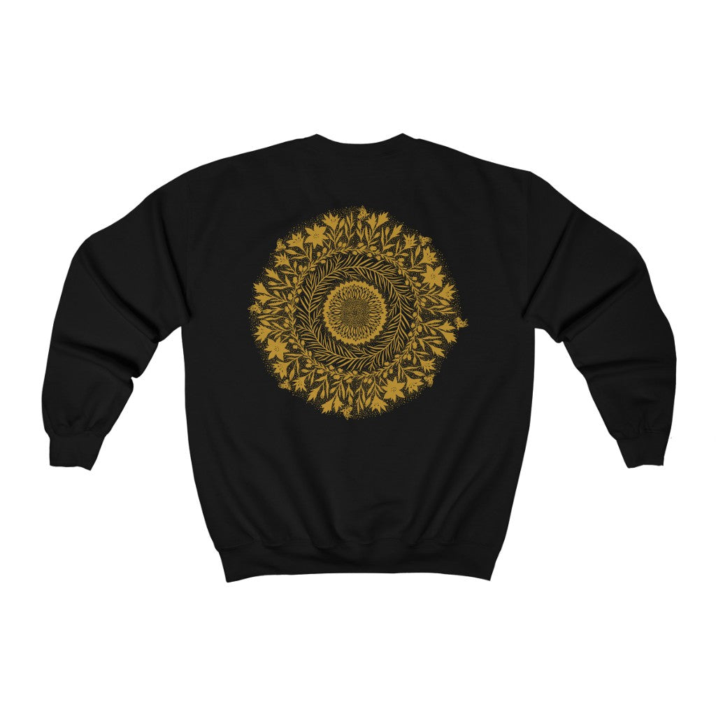 Pollination crew neck sweatshirt