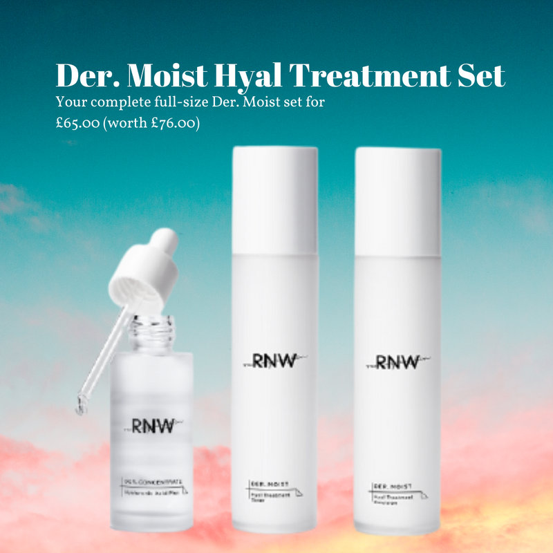 Der. Moist Hyal Treatment Set (worth £76)