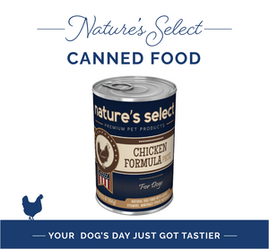 Nature's Select Canned Chicken Pate Recipe for Dogs