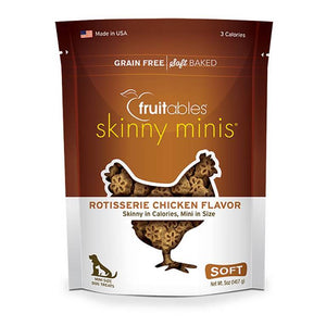 Skinny MInis Rotisserie Chicken Chewy Dog Treats