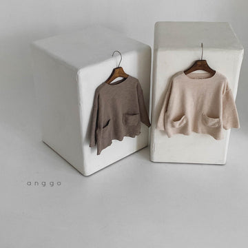 Anggo Knit Tee (2 colour options) - ooyoo