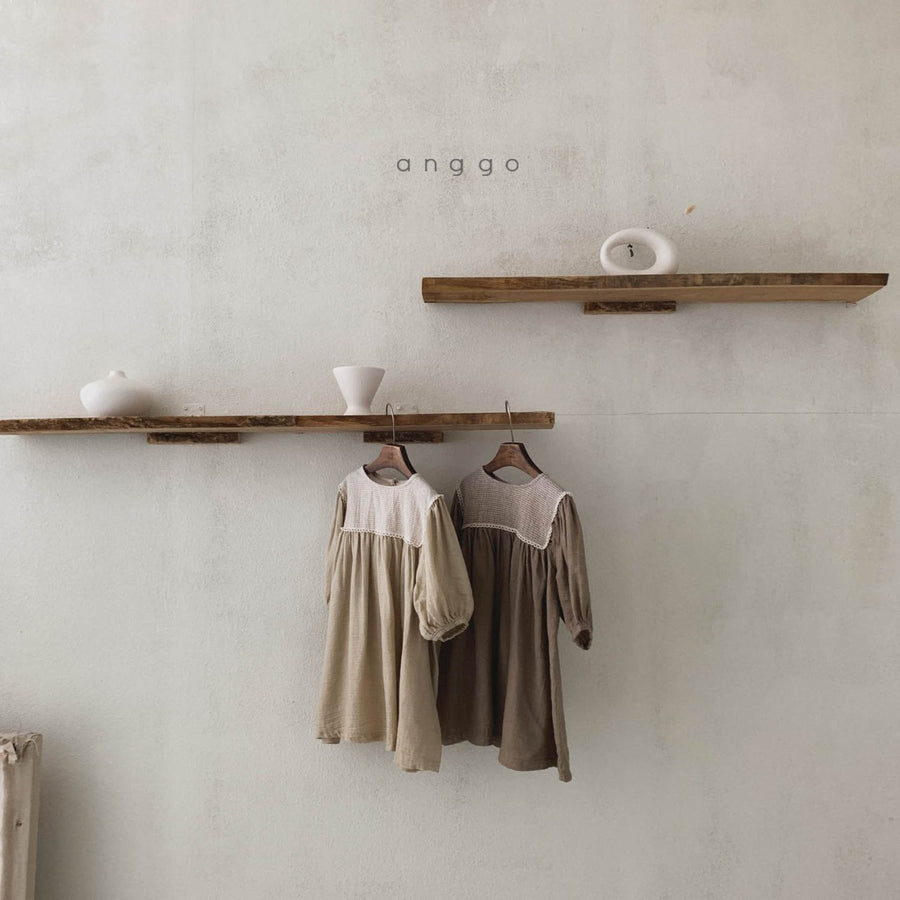 Anggo Maple Dress (2 colour options) - ooyoo