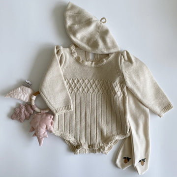 Aosta Coco Lee Knit Romper - ooyoo