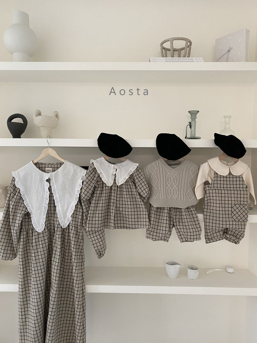 Aosta Frill Collar Dress ( 2 colour options) - ooyoo