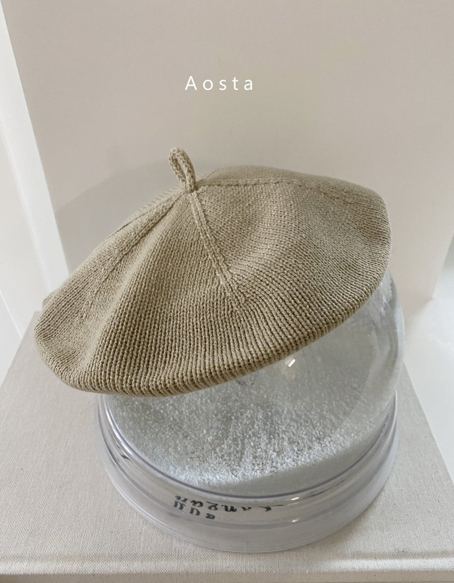 Aosta Knit Beret (3 colour options) - ooyoo
