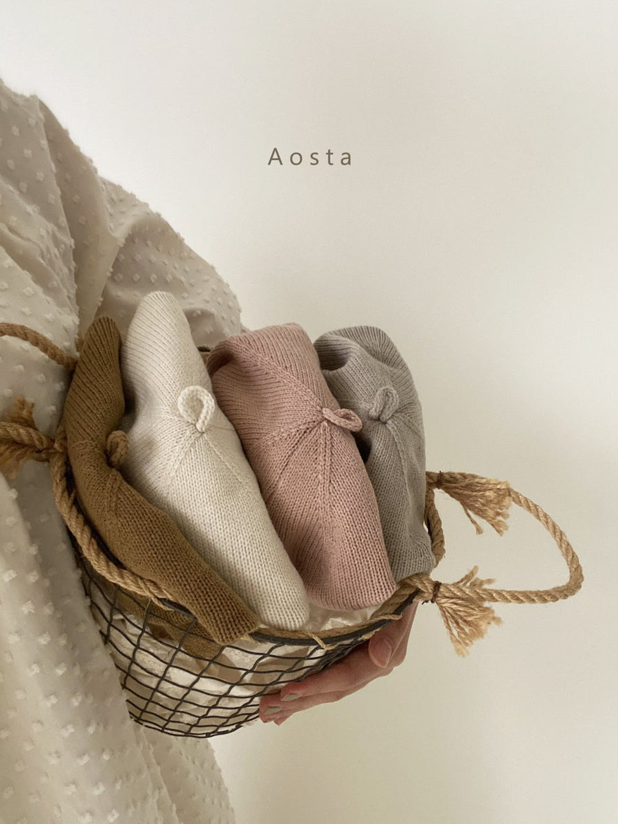 Aosta Knit Beret (4 colour options) - ooyoo