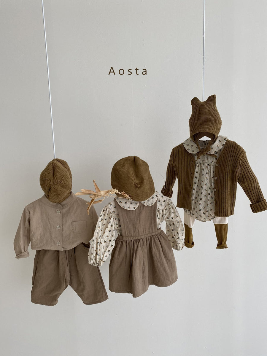 Aosta Marcel Romper (2 colour options) - ooyoo