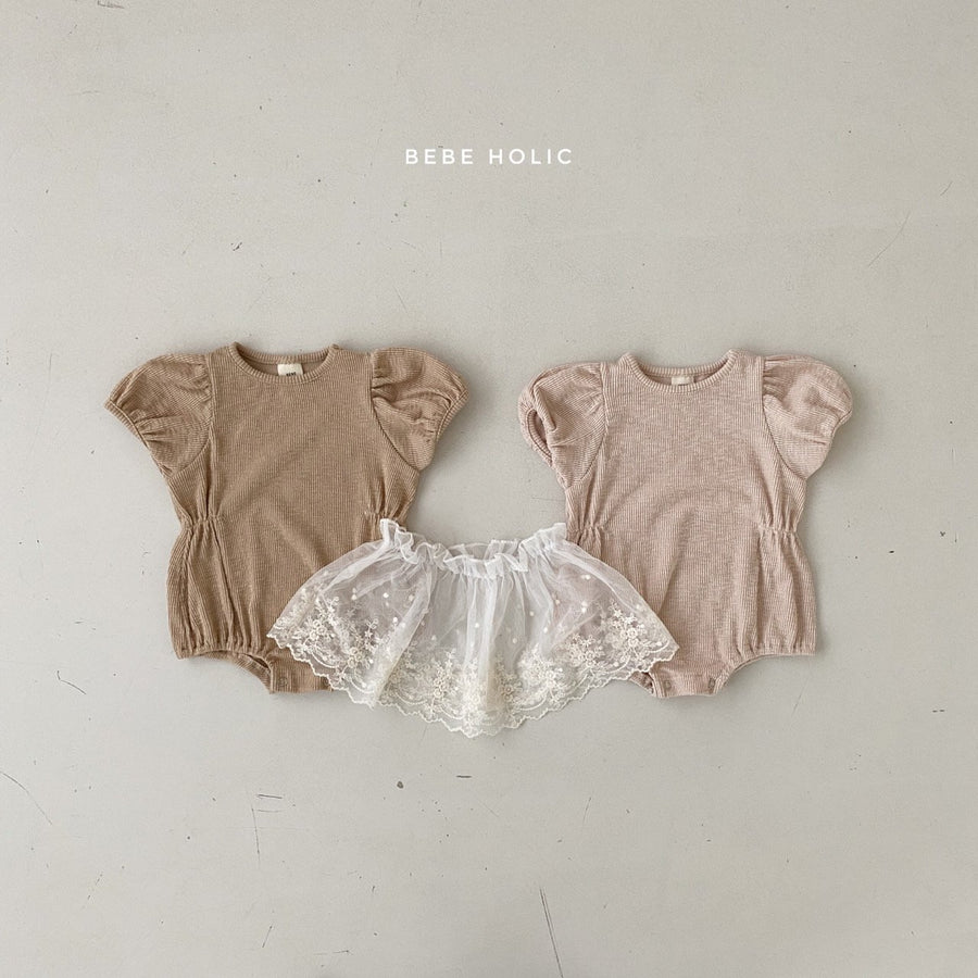 Bebeholic Cutie Romper and Skirt Set (2 colour options) - ooyoo