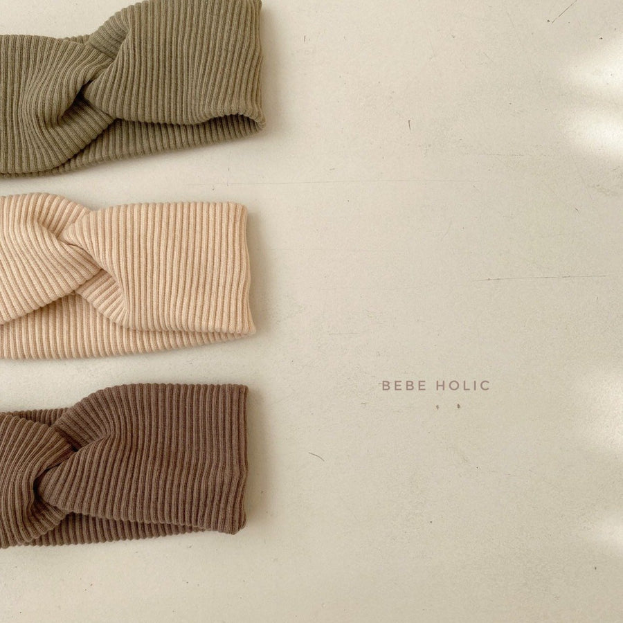 Bebeholic Twist Hairband (3 colour options) - ooyoo
