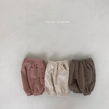 Bella Bambina Dotti Pant (3 colour Options) - ooyoo