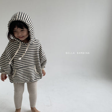 Bella Bambina Stripe Hoody (2 colour options) - ooyoo