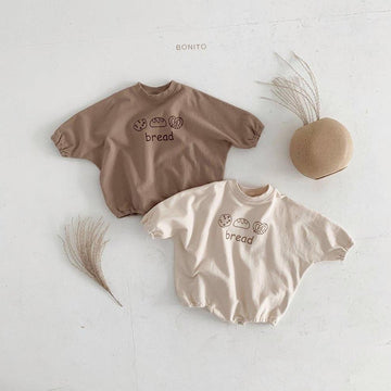 Bonito Bread Romper (2 colour options) - ooyoo