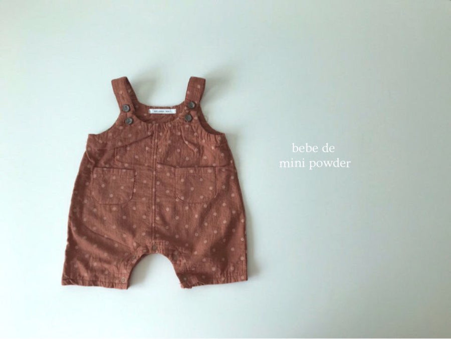 Mini Powder Dotty Overalls (2 colour options)