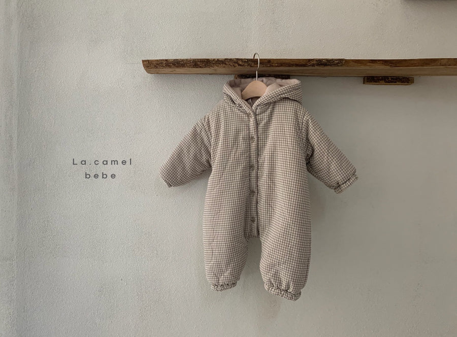 La Camel Neo Padded Babysuit (2 colour options) - ooyoo
